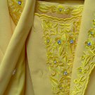 adult female gold 2-pce ben marc skirt suits, size 16,gold  w/ embroidery & stone work