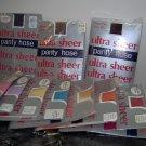 "ladies queen ultra Sheer panty hose,40-56""hip,16-240lbs,bk,bge,wh,off bk,off wh,coffee,+ pastels"