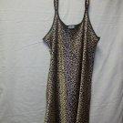 vandre shorty sleepwear/lingerie, animal print, size 3xl