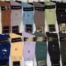 mens poly/rayon dress socks (stacy Adams) many pastel colors as well as earth/tone