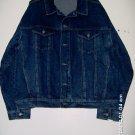 denim jacket, blue w/snap fastner