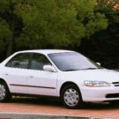 2000 Honda Accord EX - White