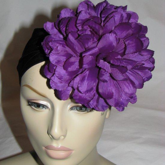 Sabrina Fascinator T20 Purple