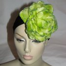 Rosy Fascinator T12 Green