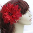 Christine Fascinator T6 Red
