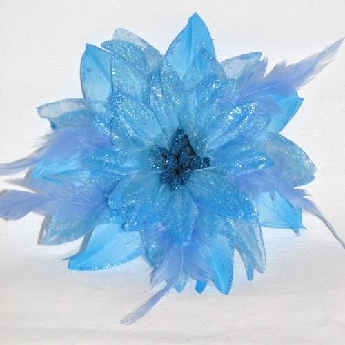 Christine Fascinator T6 Turquoise