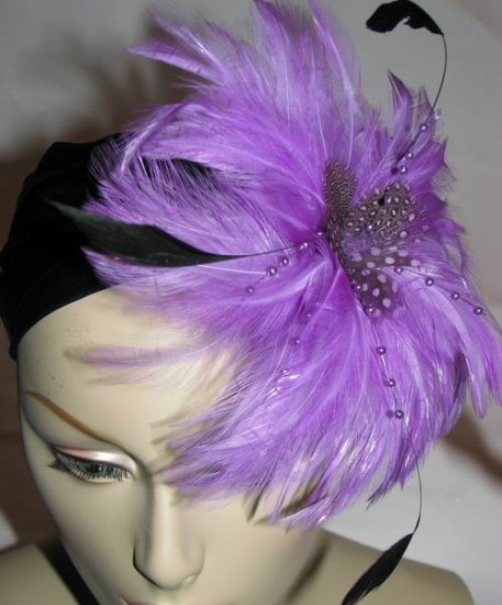 Joana Fascinator T28 Purple