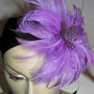 Joana Fascinator T28 Purple