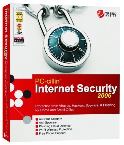 2006 Trend Micro PC-Cillin 10 Pack