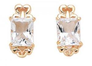 White Topaz Earrings  -  Retail  $183.95