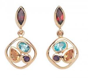 Multi Color Earrings  -  Retails  $161.95