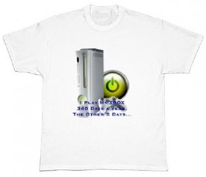 XBOX 360 X-Treme Fan T - Shirt