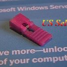 """20 x 2.54mm Jumpers Hard Drive Shunts Headers Computer IDE/CD 0.1"""" W/Handles Red"""
