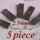 5 x 2.54mm Jumpers Hard Drive Shunts Headers Computer IDE/CD 0.1&quot; W/Handles Black