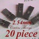 "20 x 2.54mm Jumpers Hard Drive Shunts Headers Computer IDE/CD 0.1"" W/Handles Black"