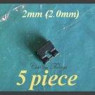5 2.0MM/2mm Jumpers Hard Drive LAPTOP SCSI/SATA Shunts Headers Micro 2-Pin