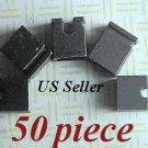 "50 2.54mm Jumpers Hard Drive Disk IDE/CD 0.1"" Shunt Headers Computer Mini 2-pin"