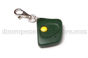 Stanley 1082 Compatible Single Button Mini Keychain Garage Door Opener Remote Control 310 MHz 108210