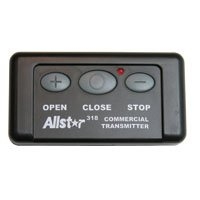 Allstar 111663 - 3 Button Open / Close / Stop 318 MHz Garage Door Remote - Allstar QC Classic OCS