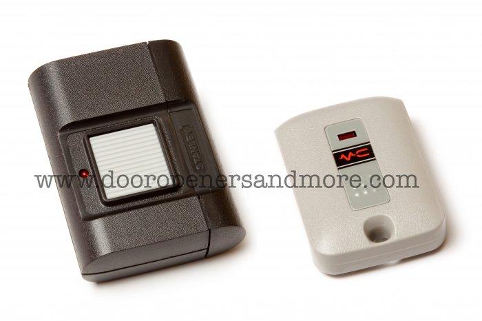 Stanley 1050 Amp 1082 Visor Amp Mini Garage Door Remote