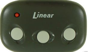 Linear DNT00089 Mega Code MCT-3: 3-Channel Visor Transmitter - Moore-O-Matic Compatible
