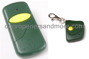 Stanley 1050 / 1082 Visor & Mini Key Chain Compatible Remote Control Combo - MCS105015