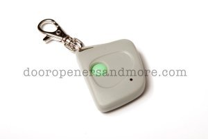Linear MCS307001 300 MHz Comp Single Button Mini Key Chain Garage Door Remote - Multi Code 3070-11