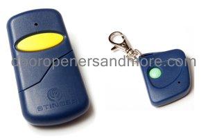 Chamberlain 750CB Visor & Mini Key Chain Remote Control Combo - 390 MHz