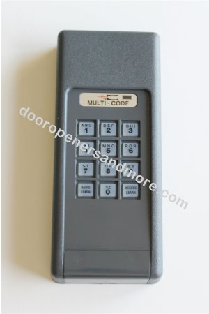 Multi Code 4200 Wireless  Garage Door / Gate Opener Keypad 300 MHz  - Multi Code 4200-01