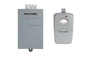 Multi Code Garage Door Opener Remote Replacement Kit: (1) 3089 Remote & (1) 1090 Receiver 300 MHz
