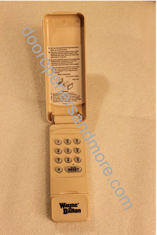 Wayne Dalton 327607 288830 Wireless Keypad 372 Mhz