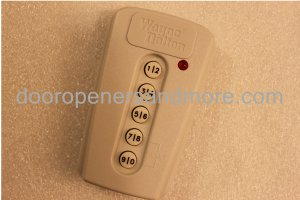 Wayne Dalton 309964 / 327308 KEP-3 Mini Wireless Keypad 372 MHz Comp with 327310 & 300643 Remotes