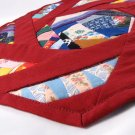 Spinning Red Octagon Chaos Block Placemat or Table Decoration