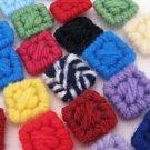 Colorful Plastic Canvas Squares art craft supply