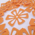 Flower Die Cuts in Glorious Goldenrod