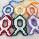 Ribbon Fish Christmas Ornament Bookmark
