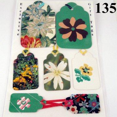 Flower Garden Gift Tag Set for Mom