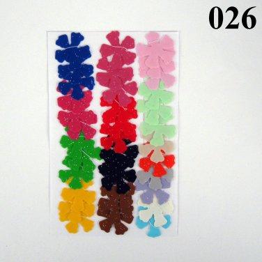 Vinyl Die Cut Crafting Flowers 36
