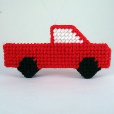 Pickup Truck Christmas Ornament