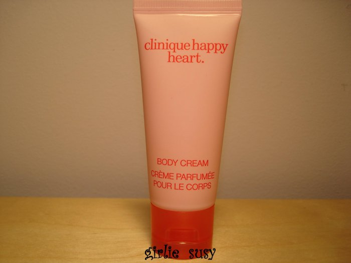 Clinique Happy Heart Body Cream Lotion 40 ml NEW Trial *PLUS BONUS CASH BACK!*