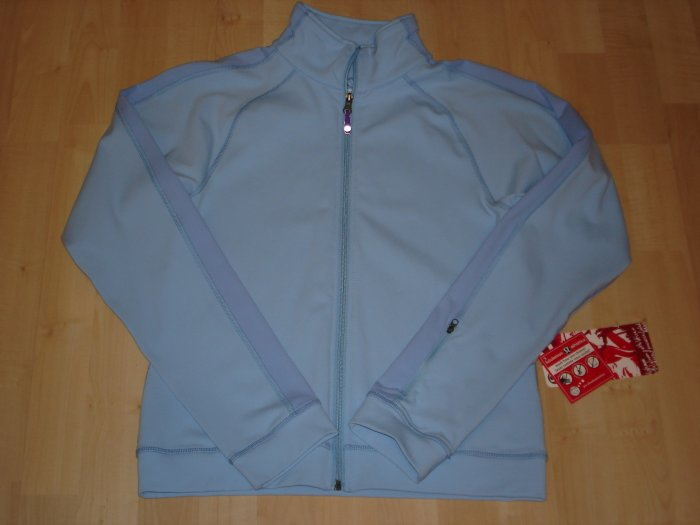 Lululemon Classic Running Jacket Sz10 NWT Frostbit Blue *PLUS BONUS CASH BACK!*