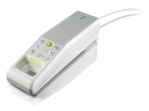 Ipevo TR-10 Trio - Skype USB Speakerphone For Conference Calls - White TR-10i