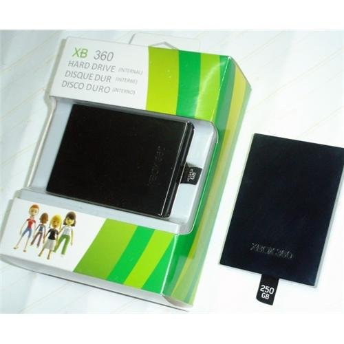 250GB HD For Microsoft Xbox 360 Slim
