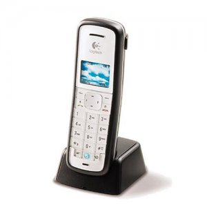 Logitech Cordless USB Skype Phone Handset - Used
