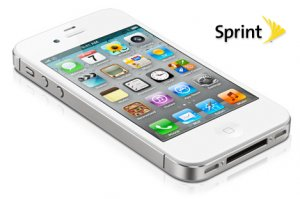 White iPhone 4S 16GB Sprint  - Clean ESN - Good Condition