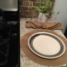 Natural Burlap Round Placemats