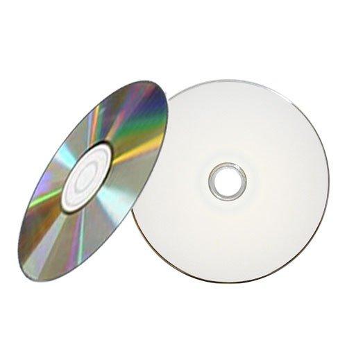 500PK Professional Grade White Inkjet HUB Printable 52X CD-R
