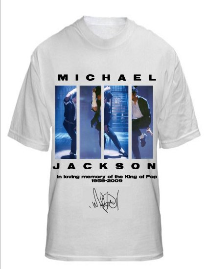 Michael Jackson Memorial T-shirt
