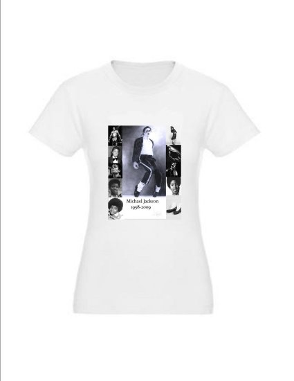 Michael Jackson Memorial T-shirt Women's