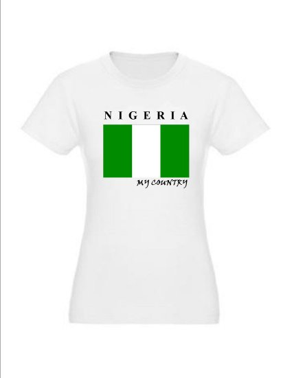 "My Country Patriotic T-shirts ""Nigeria"""